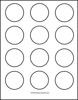Matte White Printable Sticker Labels 250 Sheets 2 Inch