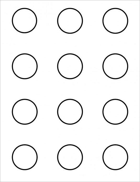 1 Inch Circle Template 7 Printable Macaron Templates Pdf Doc