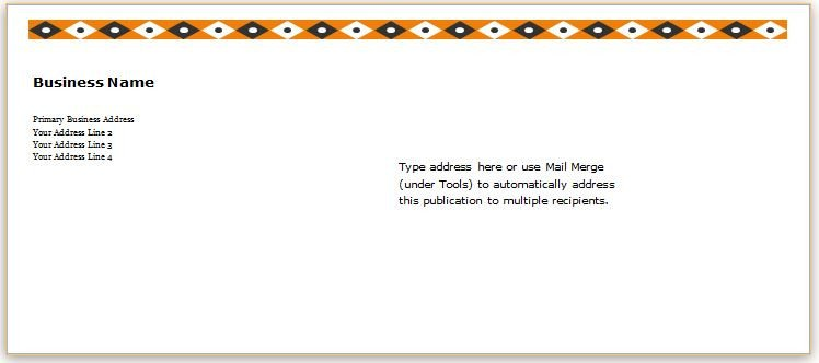 10 Envelope Template Word 40 Editable Envelope Templates for Ms Word