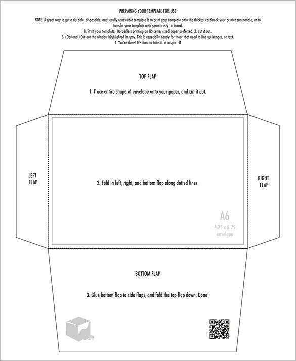 10 Envelope Template Word 4×6 Envelope Templates – 9 Free Printable Word Pdf Psd