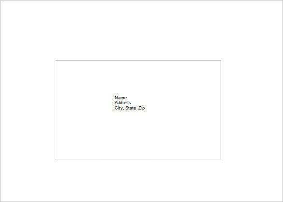 10 Envelope Template Word Envelope Template 37 Free Printable Psd Pdf Eps Word