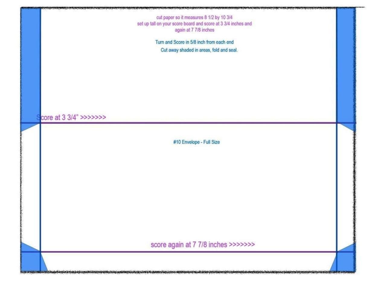 10 Envelope Template Word No 10 Envelope Template Word Sampletemplatess
