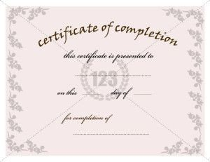 123 Awards Certificates 10 Best Images About Pletion Certificate On Pinterest
