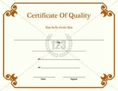 123 Awards Certificates 1000 Images About Award Certificates On Pinterest