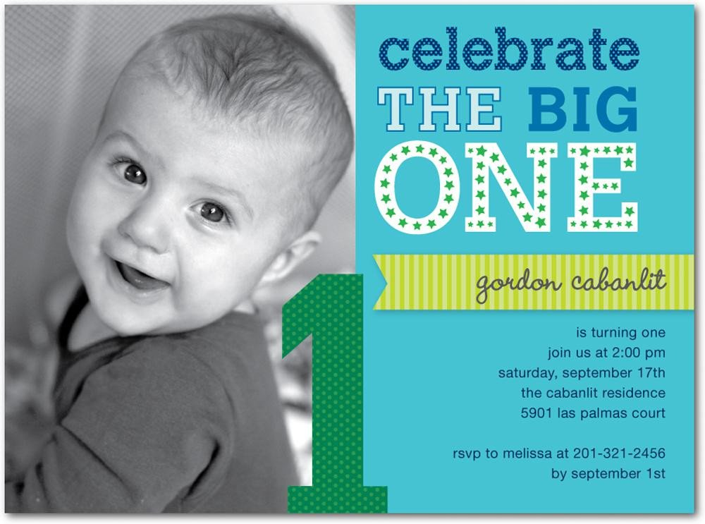 1st Birthday Invitation Template 16 Best First Birthday Invites – Printable Sample