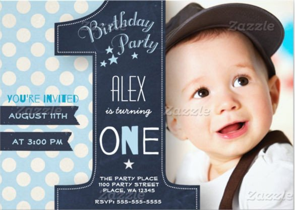1st Birthday Invitation Template 36 First Birthday Invitations Psd Vector Eps Ai Word