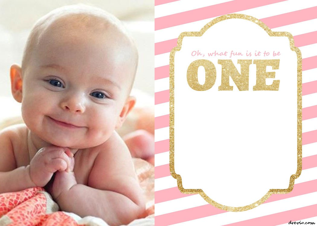 1st Birthday Invitation Template Free Printable 1st Birthday Invitations Template