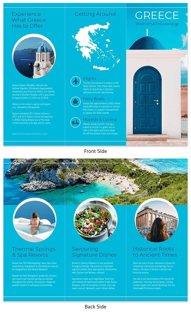3 Fold Brochures Templates 20 Professional Trifold Brochure Templates Tips