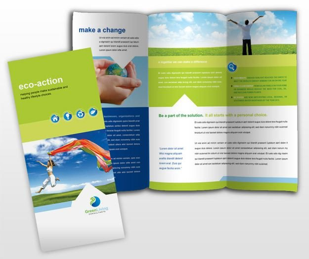 3 Fold Brochures Templates 24 Best 3 Fold Brochure Images On Pinterest