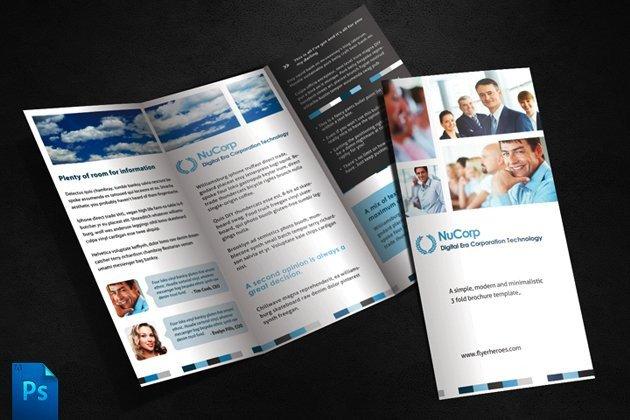 3 Fold Brochures Templates 3 Fold Brochure Template Brochure Templates Creative