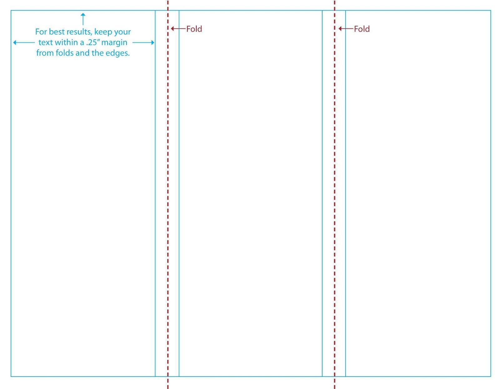 3 Fold Brochures Templates 3 Fold Brochure Template