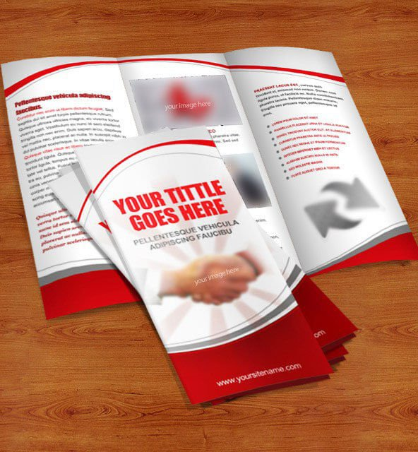 3 Fold Brochures Templates 40 Free Professional Tri Fold Brochures for Business