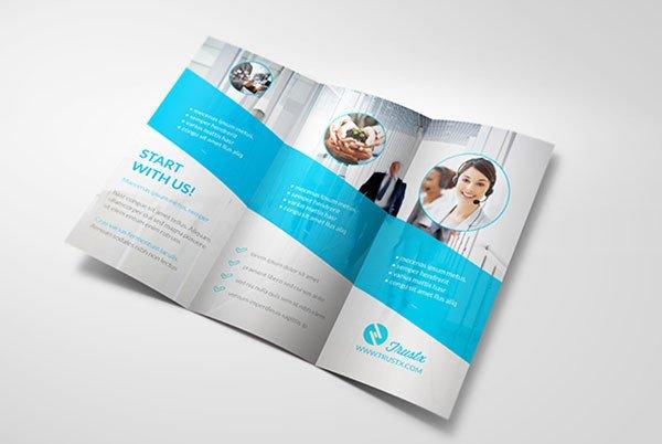 3 Fold Brochures Templates Free Tri Fold Brochure Templates