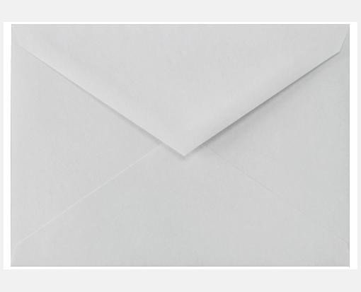 4 Bar Envelope Template Cotton Gray 3 5 8 X 5 1 8 Envelopes