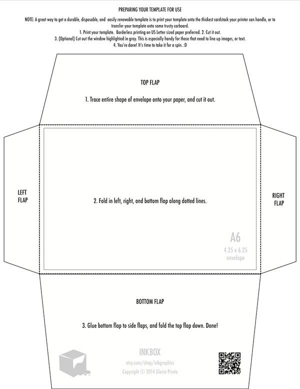 4 Bar Envelope Template Free Printable 4 25 X 6 25 Envelope Template Design On Behance