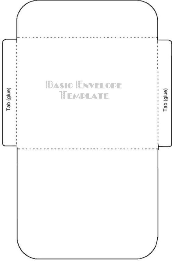 4 Bar Envelope Template Free Printable Card Envelope Templates