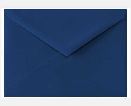 4 Bar Envelope Template Navy Blue A1 Envelopes Pointed Flap