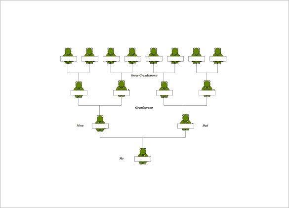 4 Generation Family Tree 4 Generation Family Tree Template – 12 Free Sample