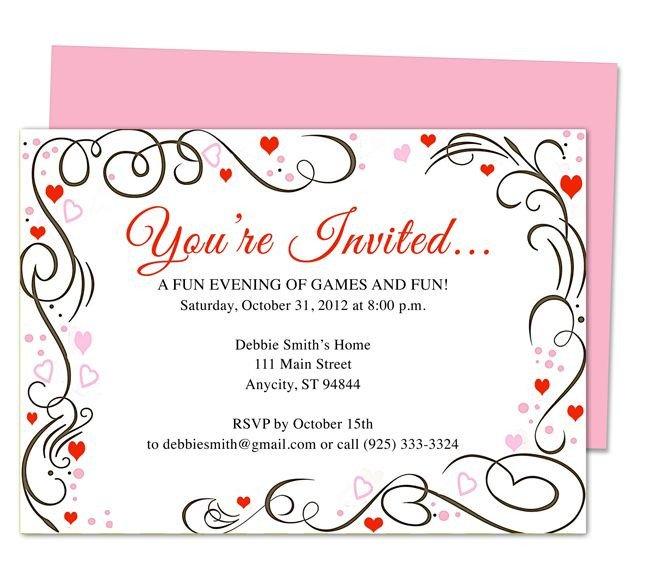 50th Anniversary Invitations Templates 9 Best 25th & 50th Wedding Anniversary Invitations
