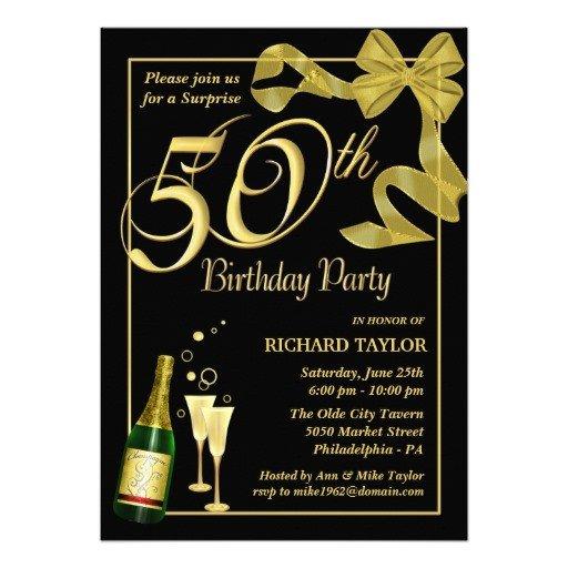 50th Birthday Invitations Templates Blank 50th Birthday Party Invitations Templates