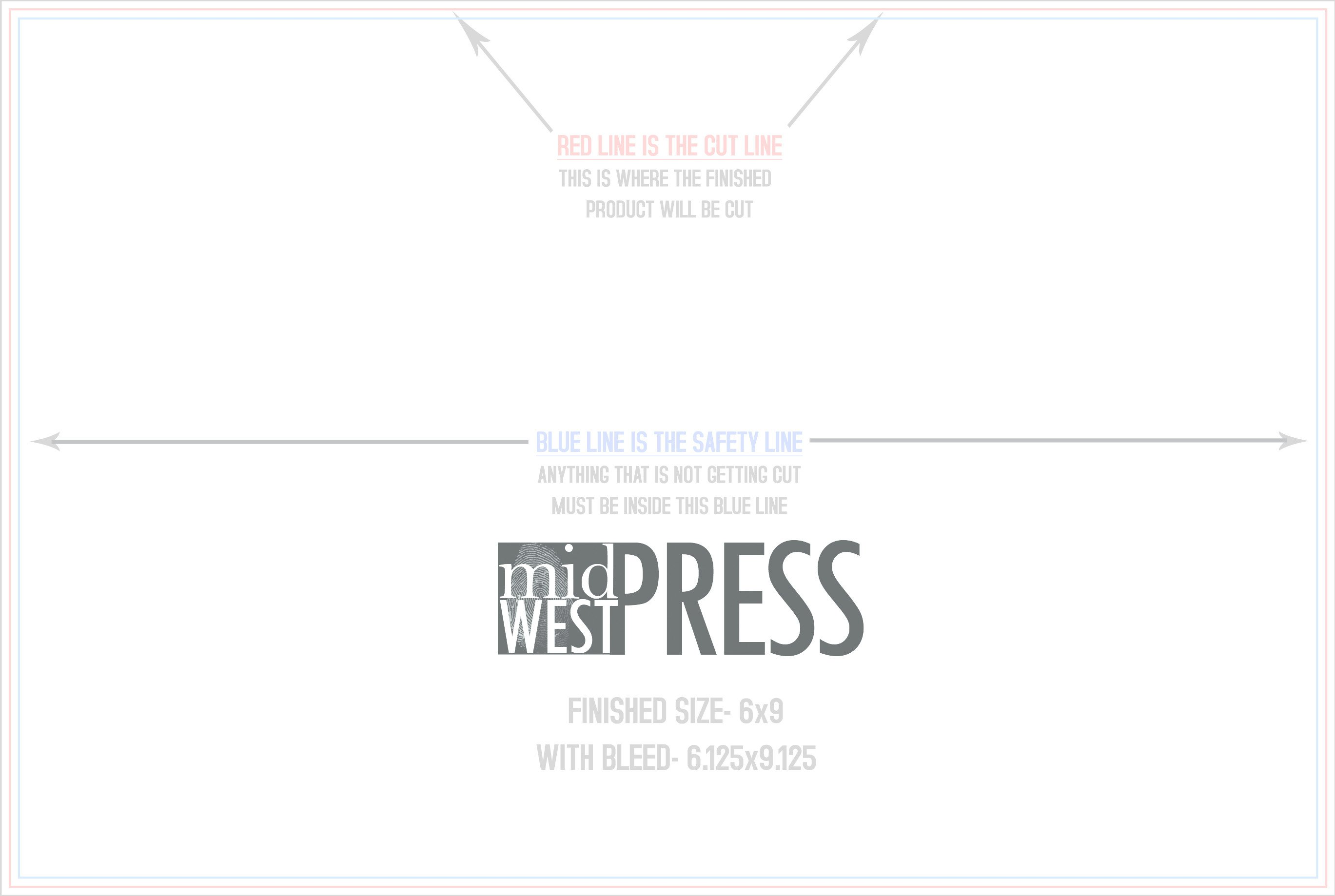 6 X 9 Postcard Template 6 X 9″ Postcard Template – Midwest Press
