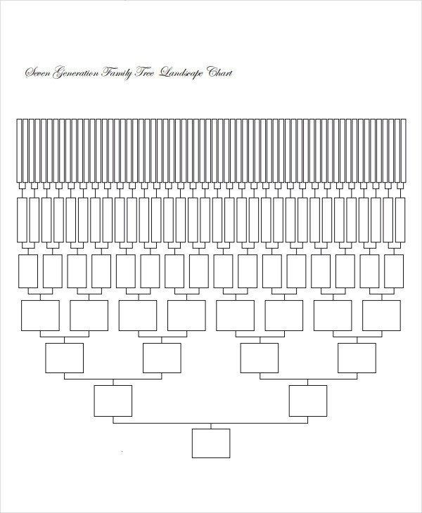 8 Generation Family Tree Template 19 Family Tree Templates
