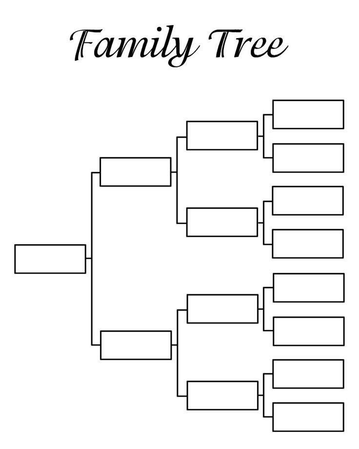 8 Generation Family Tree Template 9 Best Arboles Images On Pinterest