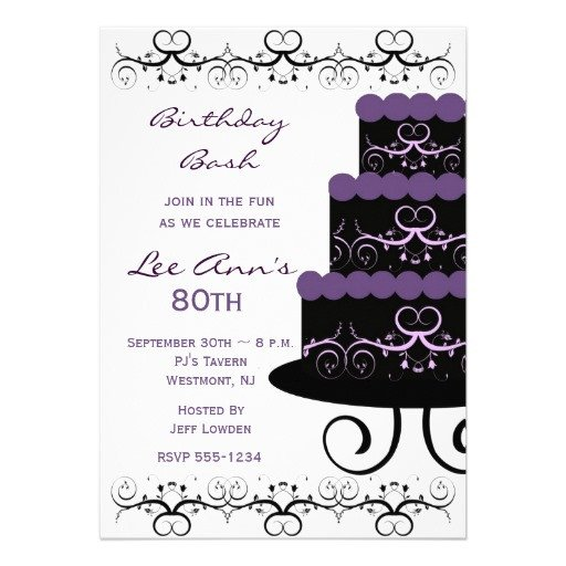 80th Birthday Invitations Templates Free 80th Birthday Invitations Templates Free Invitation