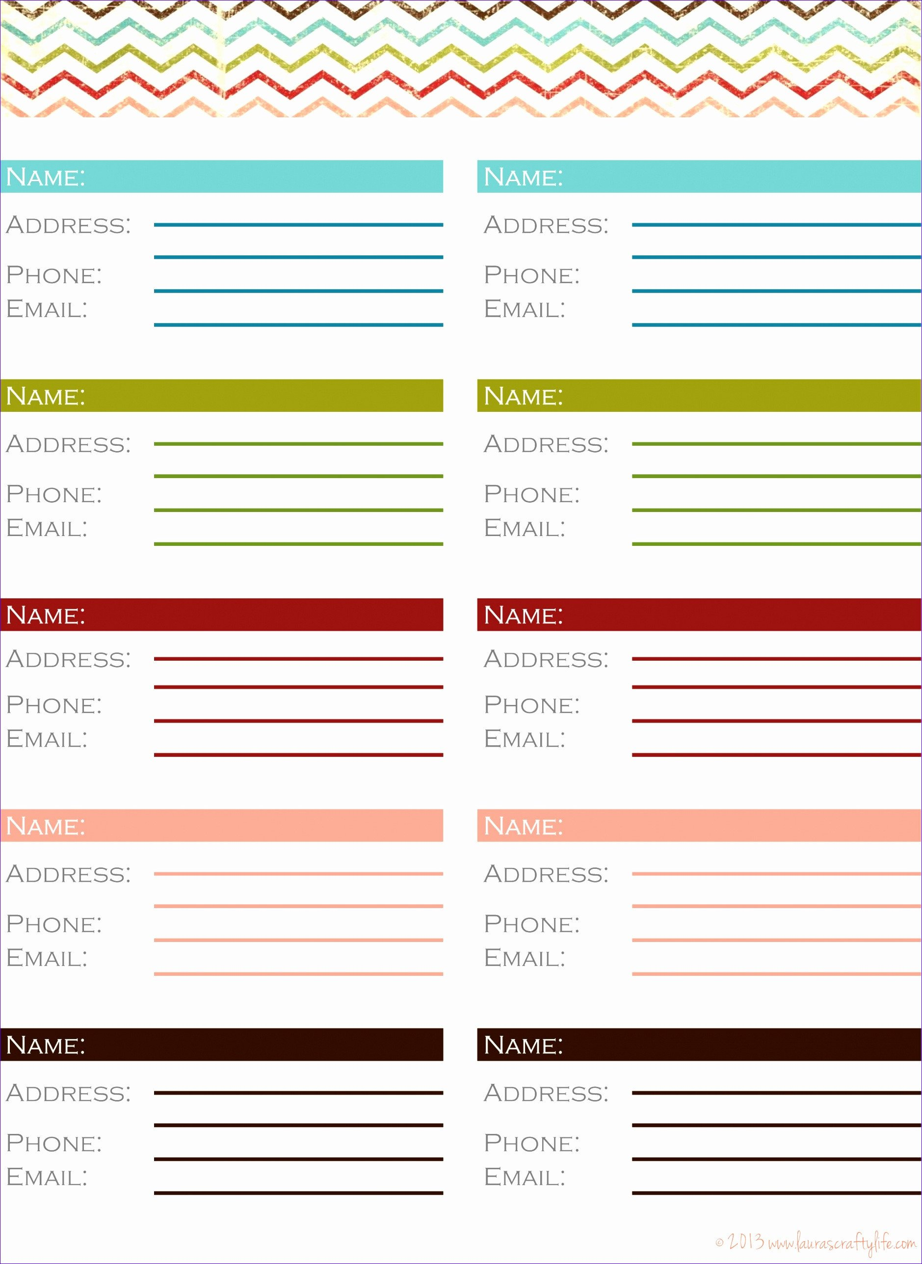 Address Book Template Excel 10 Phone Book Excel Template Exceltemplates Exceltemplates