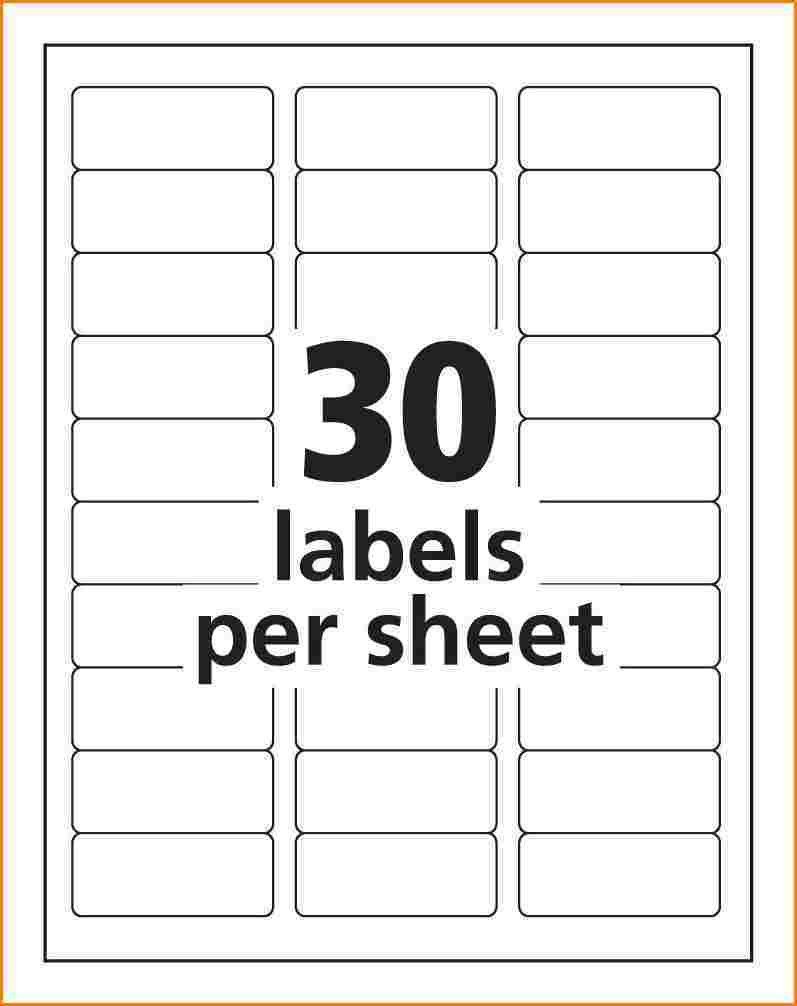 Address Labels Template Free Address Label Template Avery 8160 Templates Resume