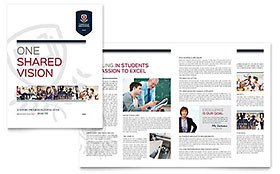 Adobe Illustrator Brochure Templates Illustrator Templates Brochures Flyers