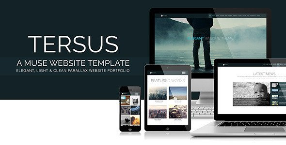 45 Best Adobe Muse Templates Free & Premium Download