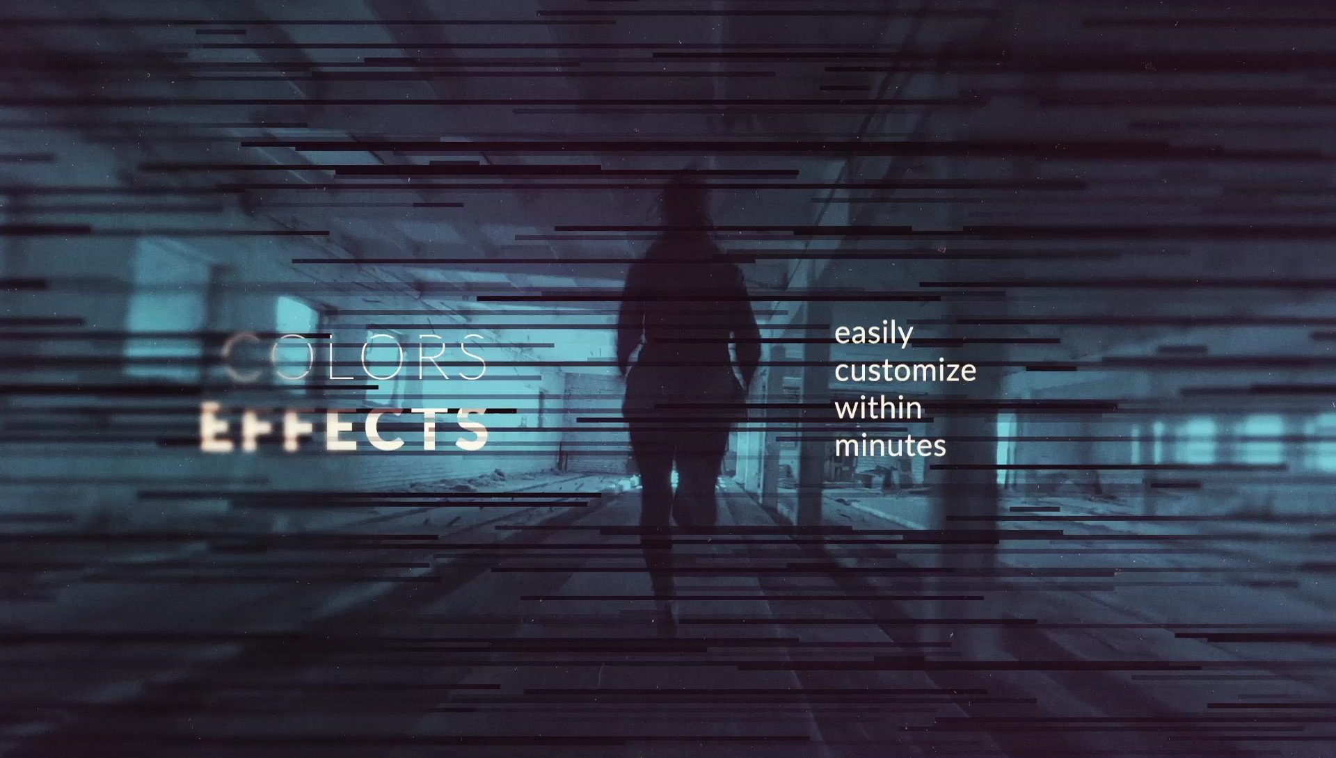 After Effects Templates Free Calibrate Monochrome Title Sequence after Effects Template