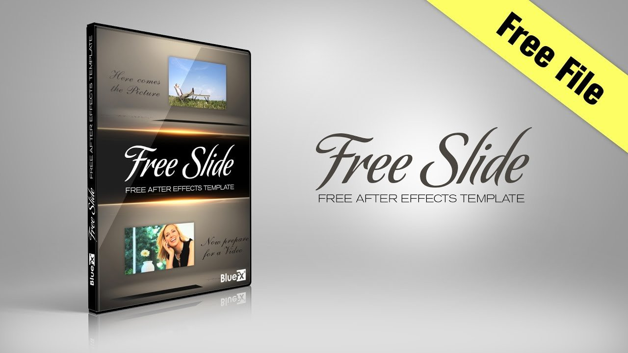 After Effects Templates Free Free Slide after Effects Template