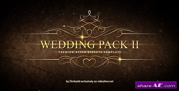 After Effects Templates Free Wedding Pack Ii after Effects Project Videohive Free