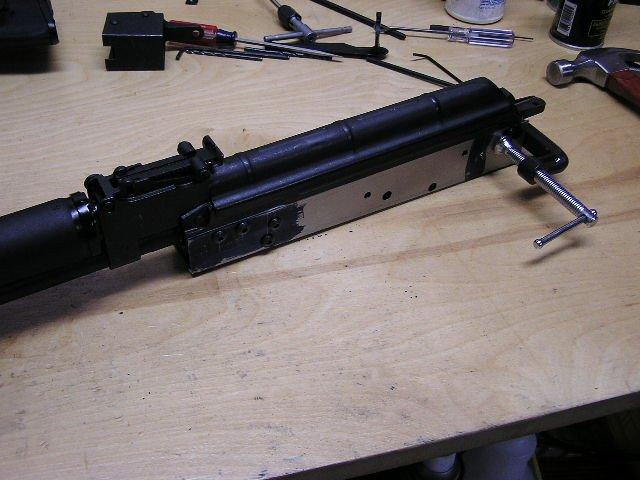 Ak Receiver Drilling Template Cncgunsmithing Ak47
