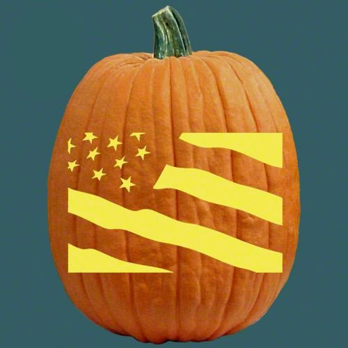 American Flag Pumpkin Carving Template 17 Best Images About Jack O Lanterns On Pinterest