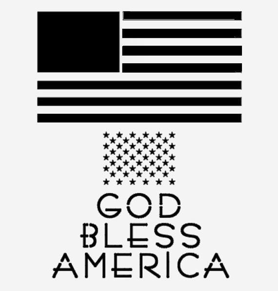 American Flag Pumpkin Carving Template American Flag Stencil Stencils Template Star Stars God Bless