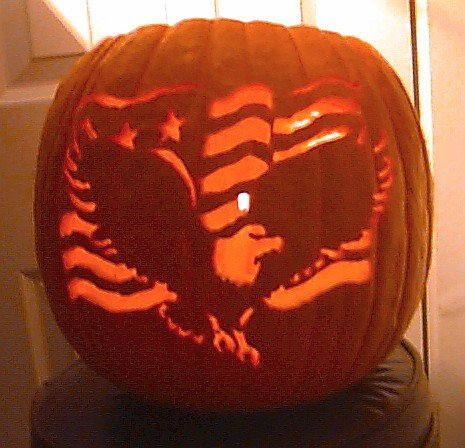 American Flag Pumpkin Carving Template Mike S Pumpkins