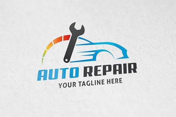 Auto Repair Logo Templates on Creative Market