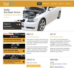 Auto Repair Website Template Auto Repair Website Templates the Real Deal Auto Repair