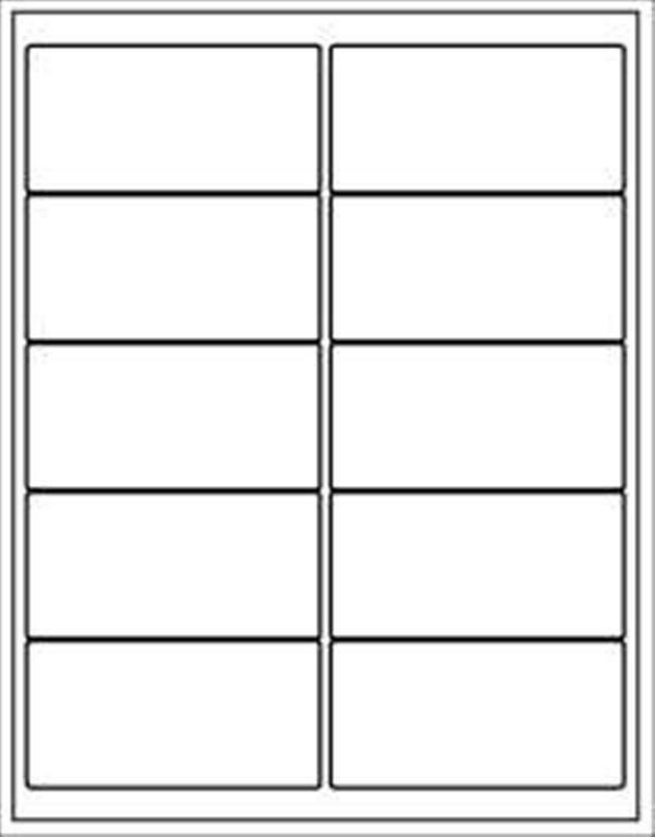 """Avery 5163 Labels Template 1 200 Avery White Mailing Labels 2 X 4"""" 5163 Size Bonus"""