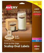 Avery Label Template 22825 Avery Easy Peel Inkjetlaser White Round Labels 2 Diameter