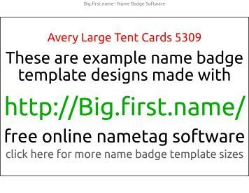 Badge Template similar to Avery 5395 8395