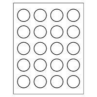 Avery Round Label Template Free Avery Templates Round Label 20 Per Sheet