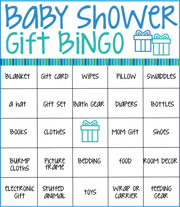 Baby Shower Bingo Cards ⋆ Real Housemoms