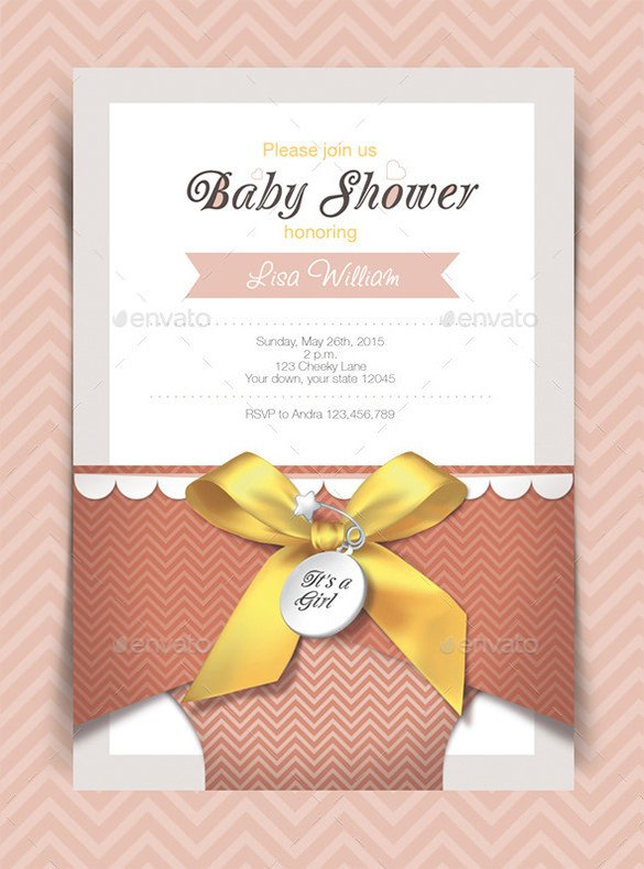 Baby Shower Card Template 35 Baby Shower Card Designs & Templates Word Pdf Psd