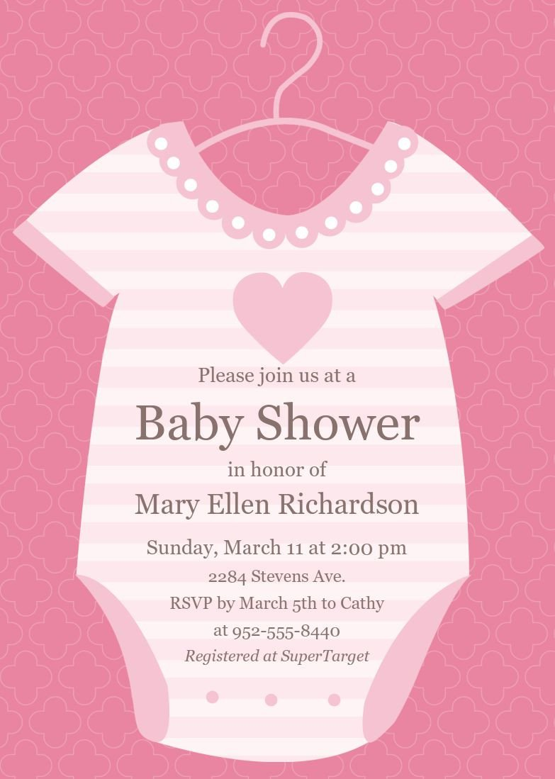 Baby Shower Card Template Baby Shower Invitations Baby Shower Invitations Cards