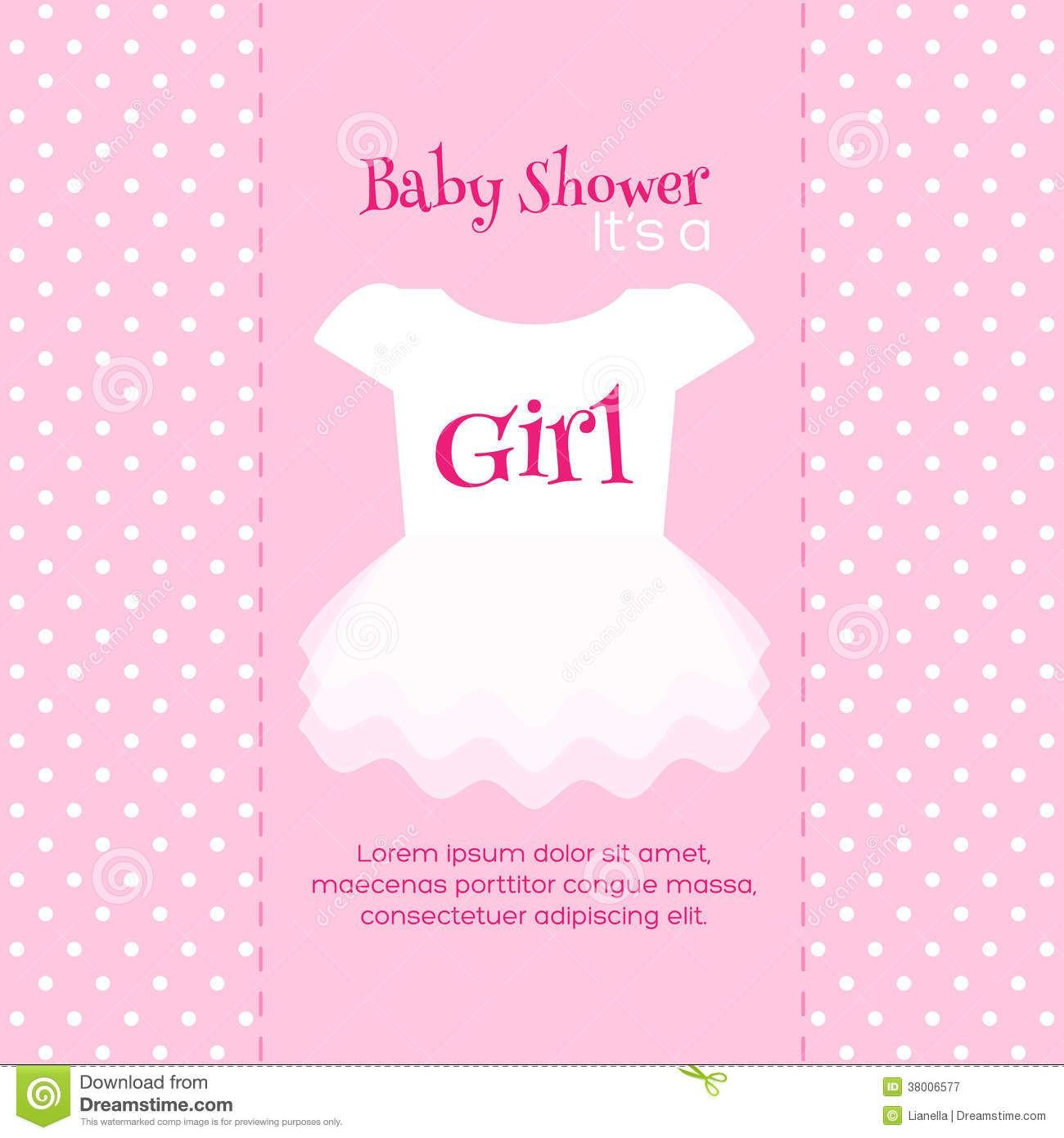 Baby Shower Card Template Design Free Printable Baby Shower Invitations for Girls