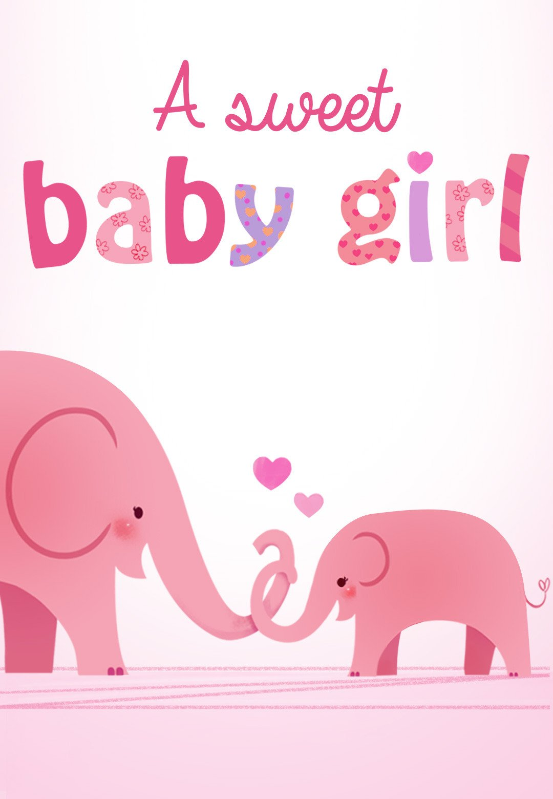 Baby Shower Card Template forever In Your Heart Baby Shower & New Baby Card